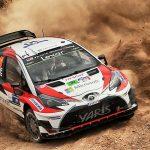今週末もTOYOTA応援ですよ。WRC第5戦ですね。各チーム一勝づつですから2勝目を上げるのは我らがTOYOTAか?