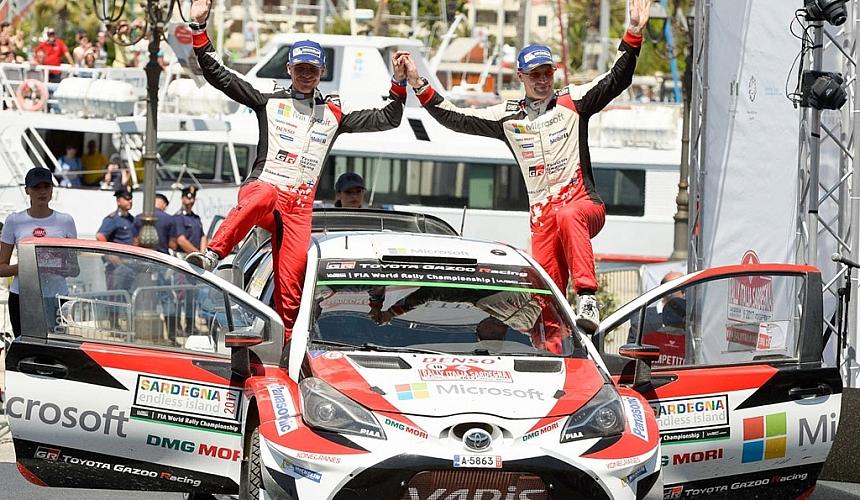WRCITALY ヤリーマティ・ラトバラが2位。エサペッカ・ラッピは参戦2戦目でなんと4位。TOYOTA全車6位入賞!
