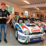 TOYOTA GAZOO Racingのヤリーマティ・ラトバラのお宝。スウェーデンのパルクフェルメにラトバラのラリー博物館を建設。