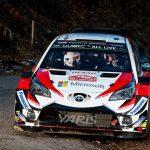 トヨタ WRCRALLYMonte Carlo(モンテカルロ)で2ー3ー4。本日が最終日。すでにセバスチャン・オジエはクルージング。でもまだまだわからない。33.5秒差なのでオット・タナクに期待!!!