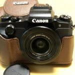 CANON PowerShot G1XMarkⅢを購入した。あまりまだ綺麗に撮れない。残念。
