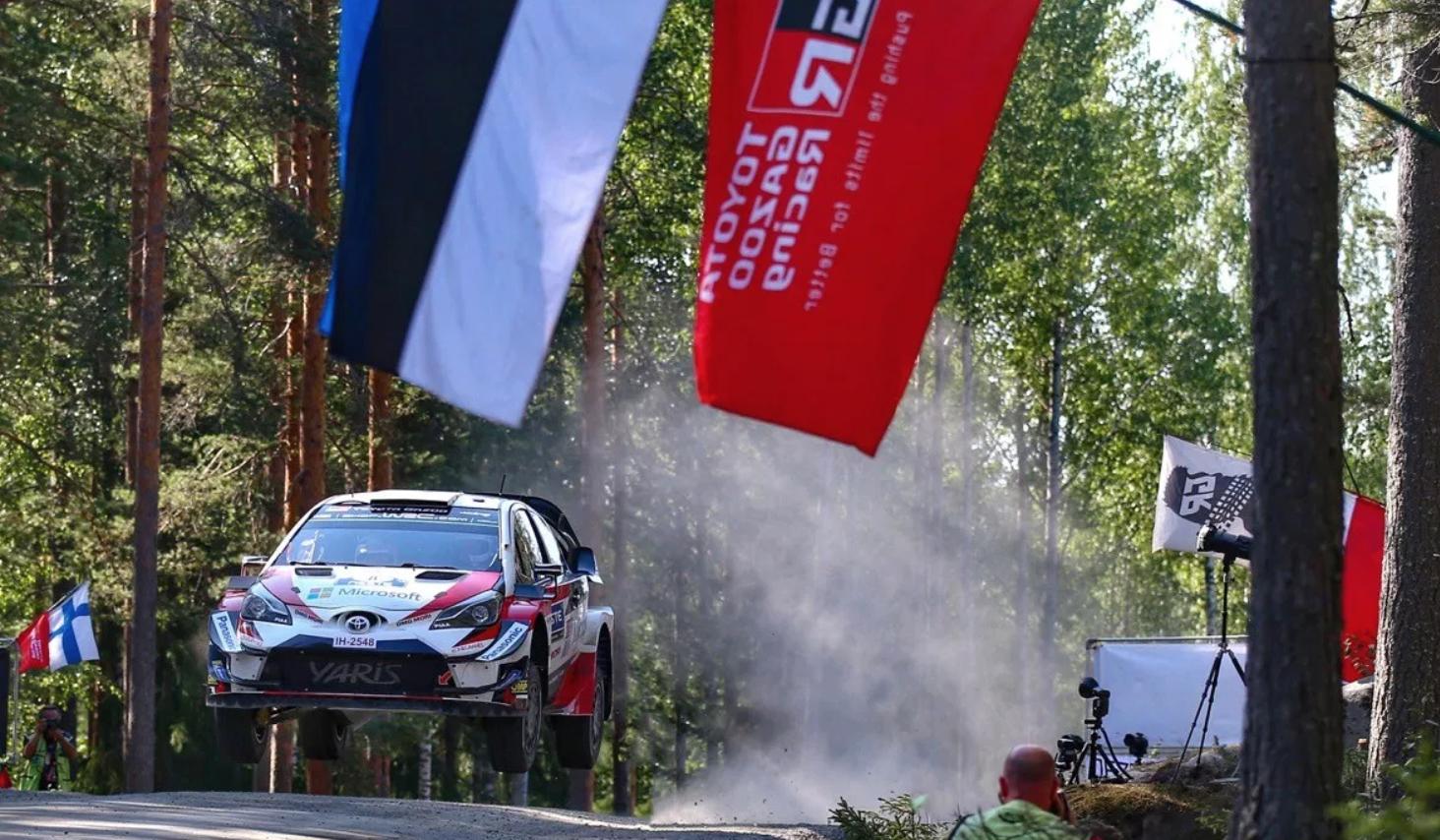 TOYOTAGAZOORACING WRCラリー・フィンランド。ワールドラリーチームオット・タナク2勝目!!!