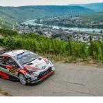 WRCドイツ超速報!オット・タナク1位。ヤリーマティ・ラトバラ3位。5位にエサペッカ・ラッピ。ターマックでもTOYOTAが速くなった。1-2-3もあり得る。
