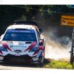 WRCドイツ超速報!ss4までTOYOTAオットタナク首位!