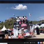 WRCトルコ TOYOTA オット・タナク ヤリーマティ・ラトバラ1−2位フィニッシュ