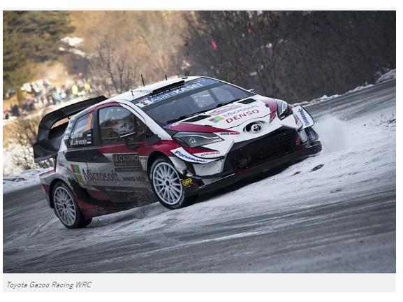 【WRCスウェーデンSS4までTOYOTAのオイットタナクが1位。3位にはヤリーマティ・ラトバラも。大好きなクリス・ミークは8位。】